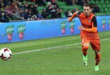 Первый гол чемпионата России по футболу сезона 2017-18 забил болгарин Димитров