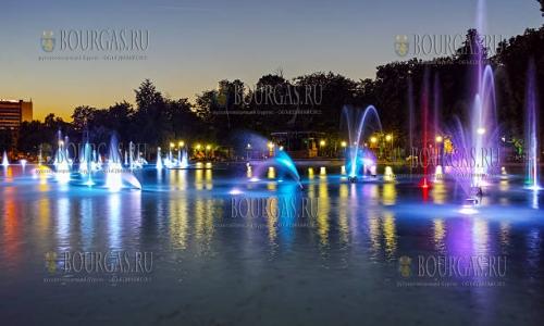 График работы Поющих фонтанов Пловдива сместился
