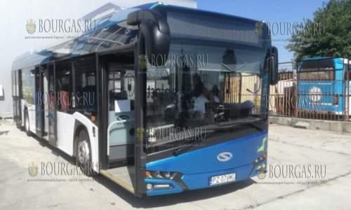 В эти дни электроавтобус тестируют в Варне на различных муниципальных маршрутах
