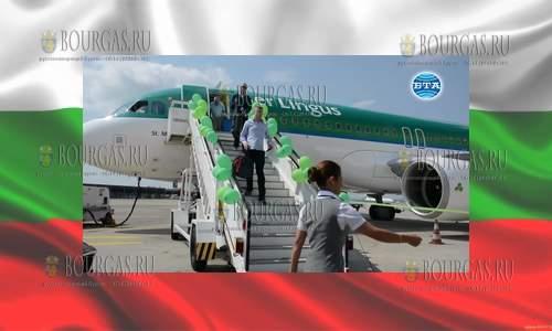 В аэропорту Бургаса в Сарафово встретили 2 000 000 пассажира