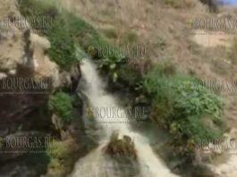 В районе Бургаса сточные воды сбрасывают прямо в море