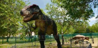 Динозавры в Морском саду Бургаса