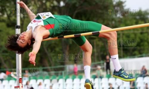 болгарский легкоатлет Тихомир Иванов