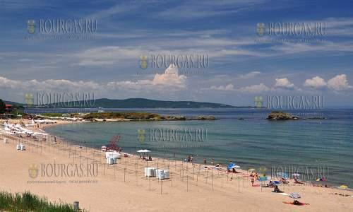 пляж в селении Лозенец в Бургасской области