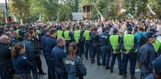 полицейские Болгарии, болгарские полицейские - протестуют