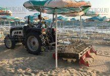 уборка на пляжах в Болгарии