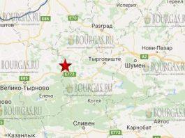 19 августа 2017 года в Болгарии произошло землетрясение 3,1 балла по шкале Рихтера