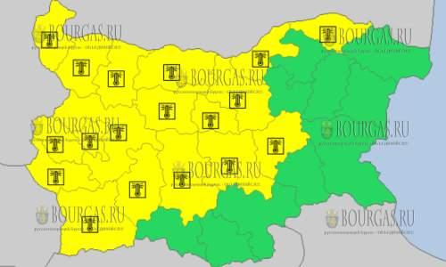 2 августа 2017 года, жаркий Желтый код в Болгарии