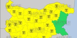 3 августа 2017 года, жаркий Желтый код в Болгарии