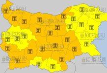 6 августа 2017 года, жаркий Желтый и Оранжевый код в Болгарии