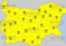 9 августа 2017 года, жаркий Желтый код в Болгарии