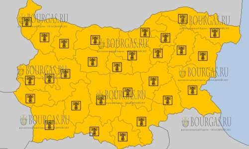9 августа на всей территории Болгарии - горячий Оранжевый код опасности
