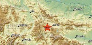 14 сентября 2017 года в Болгарии произошло землетрясение 3,2 балла по шкале Рихтера