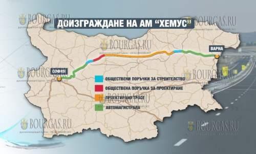 Автомагистраль Хемус в Болгарии