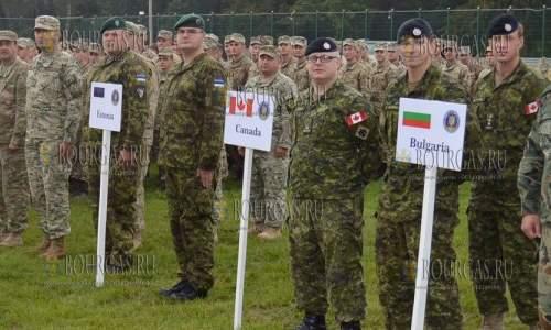 Болгария принимает участие в военных учениях НАТО в Украине - Rapid Trident-2017