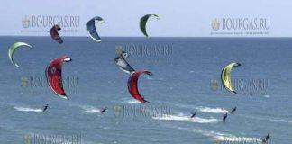 Болгарский курорт Приморско примет соревнования кайт-серфингистов «Приморско есен» 2017
