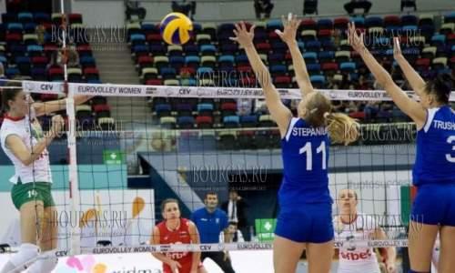 женская сборная Болгарии по волейболу на чемпионате Европы в Баку