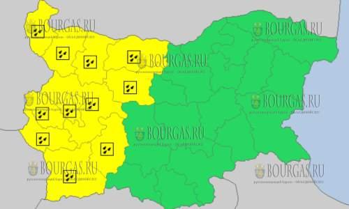 22 октября 2017 года, дождливый Желтый код опасности