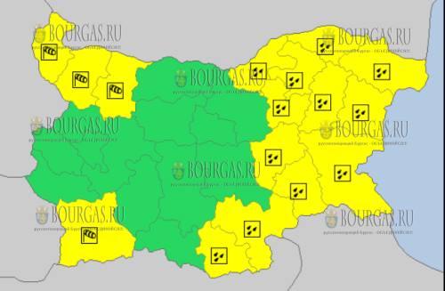 28 октября 2017 года, дождливый и ветреный Желтый код опасности