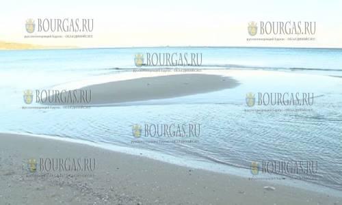 Море в Варне отступило