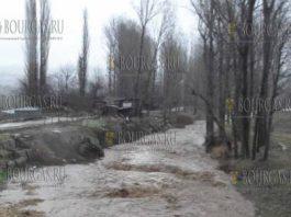 наводнение в Бургасской области