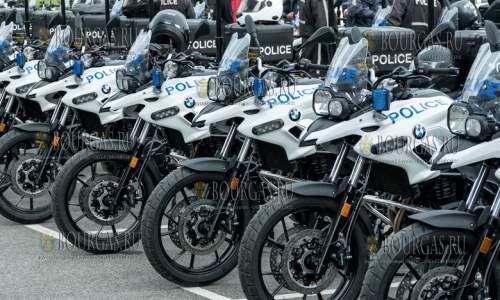 Полиция в Болгарии пересаживается на мотоциклы BMW