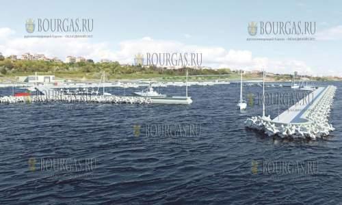 Рыбный порт в Варне в ЖК Аспарухово