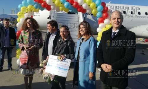 в аэропорту Софии обслужили 5 000 000 пассажира