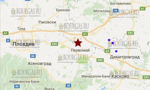 27 ноября 2017 года в районе селения Градина на Юге Болгарии произошло землетрясение силой 2,2 балла по шкале Рихтера