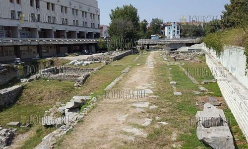 Античный форум в Пловдиве