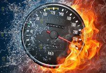 Болгарский водитель передвигался по Хорватии со скоростью свыше 240 км/ч