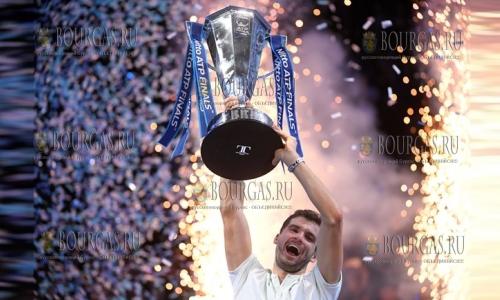 Григор Димитров выиграл Итоговый турнир ATP в Лондоне