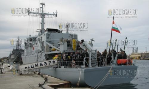 Корабль ВМС Болгарии Цибар, минный тральщик Цибар