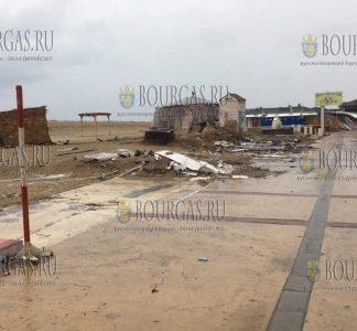 Снос незаконных объектов на Солнечном берегу продолжается
