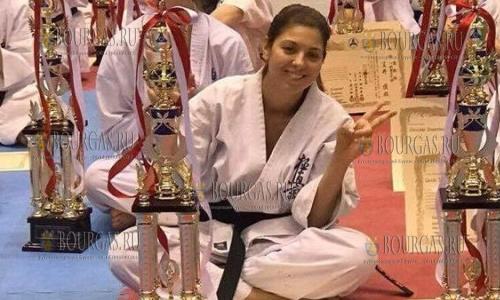 Станислава Бойчева - чемпионка Японии по карате