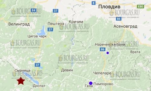 18 декабря 2017 года в Болгарии произошло землетрясение