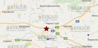8 декабря 2017 года в Болгарии произошло землетрясение 3,1 балла по шкале Рихтера