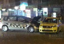 На улицах Варны не смогли разъехаться два таксиста, в ДТП пострадали семеро