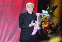 после 38-летнего перерыва Шарль Азнавур в Болгарии