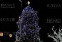 Рождественская елка в Варне 2017