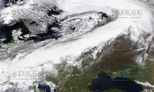 Циклон Филипп в Болгарии