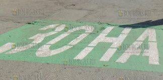Зеленая зона парковки