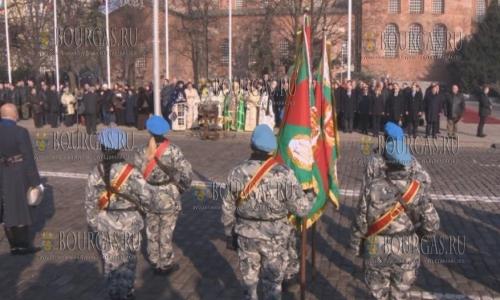 6 января 2018 года в Иорданов день в Болгарии освятили флаги болгарской армии