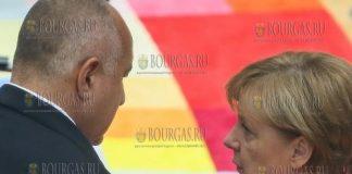 Ангела Меркель в Болгарии