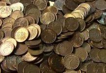 Болгарин заплатил за виньетку 14 килограмм монет
