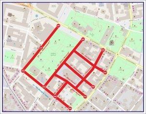улицы Софии будут закрыты для передвижения 11 января 2018 года