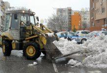 Пловдив завалило снегом