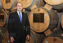 Румен Радев посетил Ереванский коньячный завод