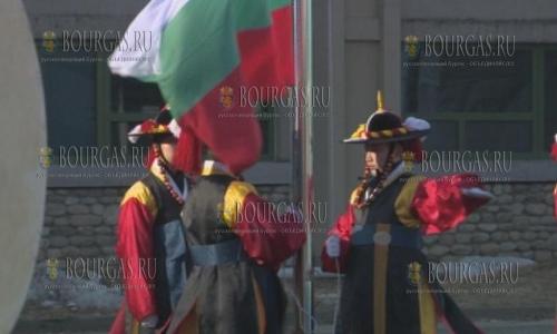 В Олимпийской деревне в Пхёнчхан подняли флаг Болгарии