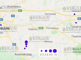 В Южной Болгарии сегодня зафиксировали сразу несколько землетрясений